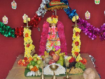 VINAYAKAR CHATHURTHI CELEBRATION 2016