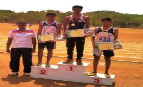 R.PREMKUMAR, X-B FOR WINNING MEDALS AT ASISC ATHLETIC MEET