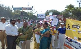 ROAD SAFETY AWARENESS RALLY 2015-16