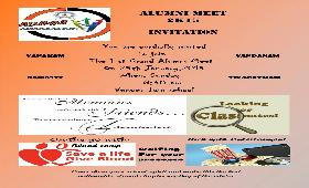 Alumni Meet on 25th January, 2015 (Sunday)